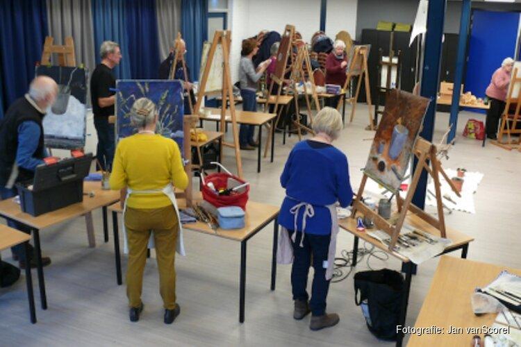 Expositie 50-jarig jubileum Schilderclub Jan vanScorel