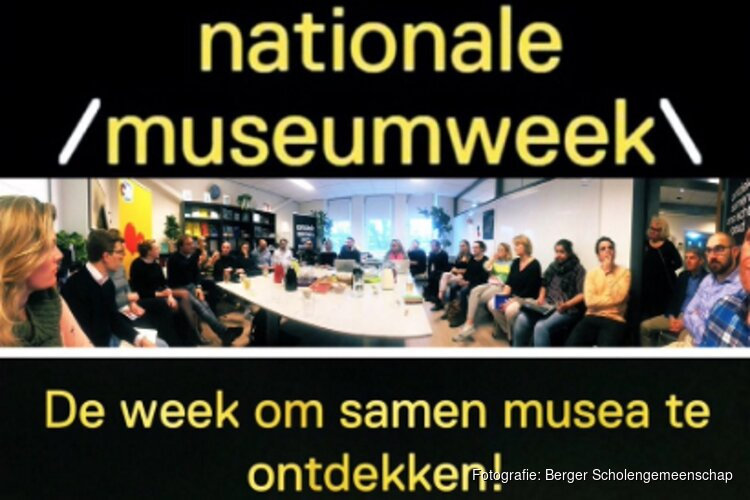 Pop-up museum van Berger Scholengemeenschap en Kranenburgh tijdens Nationale Museumweek