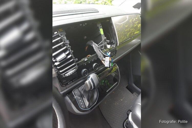 Politie waarschuwt: inbraakgolf in dure auto's Bergen