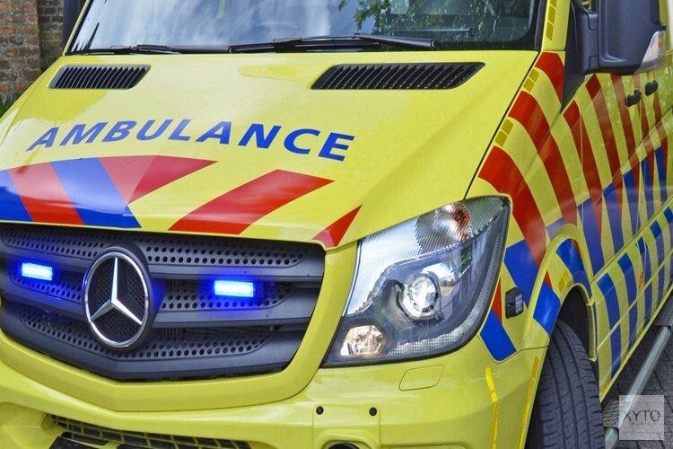 Motorrijder gewond na eenzijdig ongeval Hoeverweg