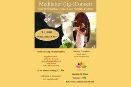 (lig-)Concert in het Witte kerkje van Groet