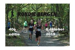 Rondje Bergen 40ste editie 6 oktober 2019