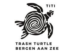 Eerste plastic etende schildpad op Bergense strand