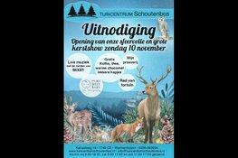 Tuincentrum Schoutenbos nodigt U uit voor de Kerstshow op zondag 10 November