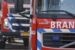 Grote brand in leegstaande bollenschuur in Schoorl