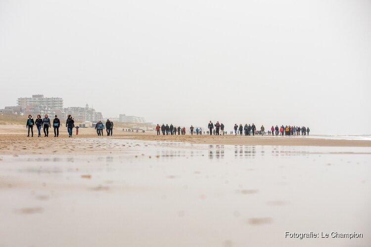Heerlijk winters wandelweekend tijdens Egmond Wandel Marathon