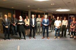 Burgercommissieleden gemeente Bergen leggen eed/belofte af