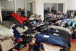 Elkaar helpen met kleding en voedsel