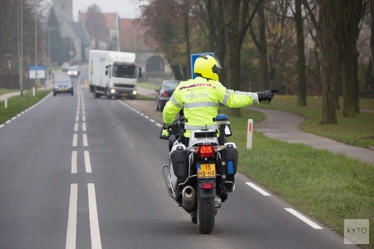 Verkeerscontroles in de Duinstreek Noord-Holland