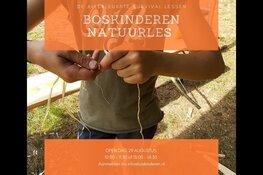 Open dag Boskinderen Natuur en Survival School