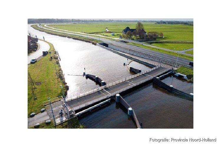 Rekervlotbrug tussen Koedijk en Bergen opnieuw gestremd voor fietsers en voetgangers