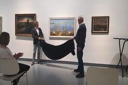 Kranenburgh draagt schilderij van betekenis over aan Museum van Egmond